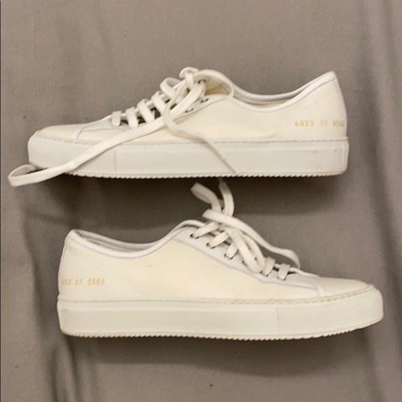 Common Projects Canvas Sneakers Sz 38